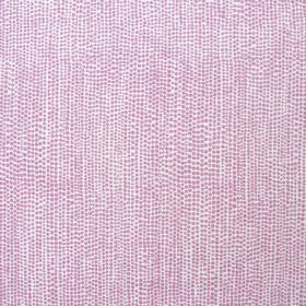 Dandaloo - Madder Pink - White fabric made entirely out of linen decorated with tiny pink dots that blend in together