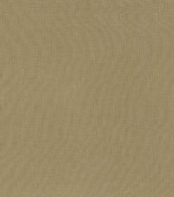 Hans - Beige - Swatch of plain gold-brown coloured fabric made from linen