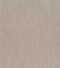 Ben - Dark Grey - Swatch of plain mocha coloured brown fabric made from linen