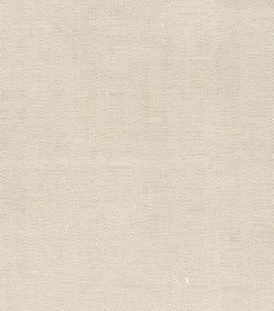 Ben - Cream - Swatch of plain magnolia coloured fabric made from linen