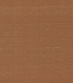 Siden - Dark Orange - Silk fabric the colour of hot chocolate