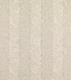 Ian - Beige - Linen fabric with a very subtle patterned stripe design in light beige and cream