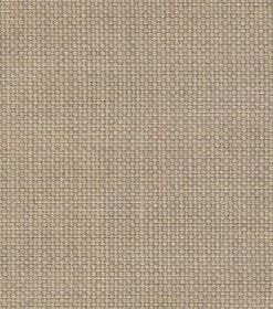 Linus - Light Grey - Unpatterned linen fabric woven in a very light brown colour