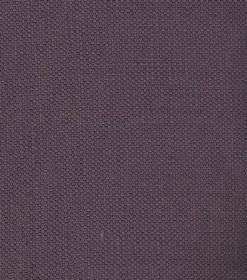 Linus - Dark Lilac - Woven linen fabric in deep, dusky purple