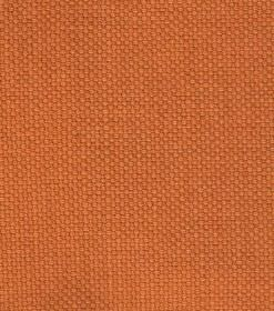 Linus - Dark Orange - Plain bright orange coloured woven linen fabric