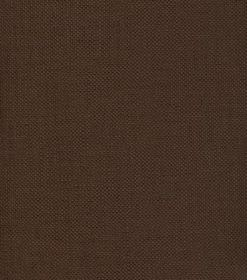 Linus - Brown - Dark brown coloured linen fabric with no pattern