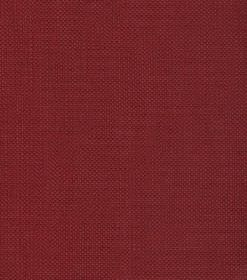 Linus - Red - Plain deep burgundy coloured woven linen fabric