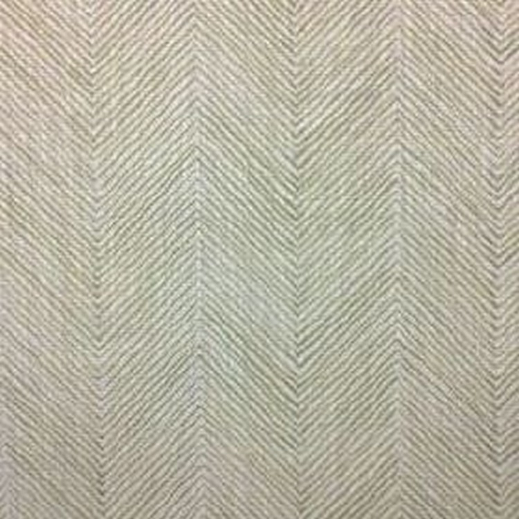 Herringbone - Pale Olive - 100% linen fabric featuring a thin, simple herringbone print pattern in two different shades of grey