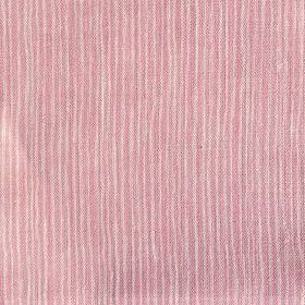 Majolica Stripe - Ballerina - Very narrow, uneven stripes on 100% linen fabric in light pink and cream