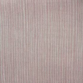Majolica Stripe - Shell Pink - Striped 100% linen fabric with an uneven pattern featuring several different shades of grey