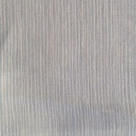 Majolica Stripe - Powder - Fabric made from unevenly striped 100% linen in two different shades of grey