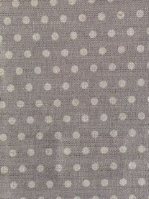 Polka Dot - Cool Grey - Linen fabric with a polka dot design in two different shades of grey