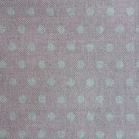 Polka Dot - Shell Pink - Fabric made from linen with a subtle polka dot pattern in grey, as well as a shade of pink which has a grey tinge
