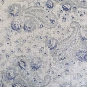 Vintage Paisley - Swedish Blue -