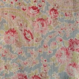 Vintage Paisley - Red Duck Egg -