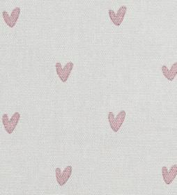 Hearts - Pale Pink -
