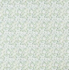 Mistel - Green - 100% cotton fabric scattered with small flecks and streaks in various light shades of blue-grey