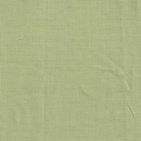 Ebba - Linden Green - Swatch of plain minty green coloured linen fabric