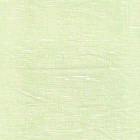 Maya Linen - Lime White - Minty green and white coloured threads of different thicknesses woven loosely into a fabric made from linen