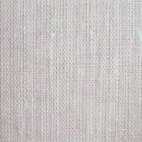 Maya Linen - Rose White - White linen fabric with a hint of light pink and some slightly thicker threads