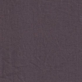 Thea Linen - Fig - Linen fabric woven in a dusky purple-grey colour