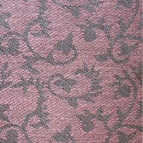 Himla - Jaqueline - Dusky pink coloured linen fabric woven with a swirling grey pattern