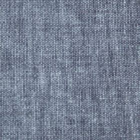 Mele - Denim Blue - Dark denim blue coloured cotton fabric which has been woven with some white threads