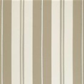 Rest - Natural - Vertical dark and light sandy stripes on IKEA fabric