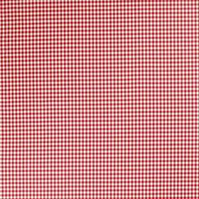 Clea - Brightred - Bright red and white plaid fabric from IKEA
