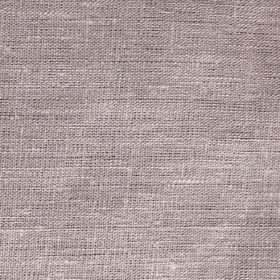 Mairo Plain Linen - Mocha - Pale grey linen fabric flecked with white