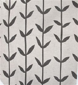 Skinny laMinx Orla - Graphite - White fabric from IKEA with graphite black stalks and leaves