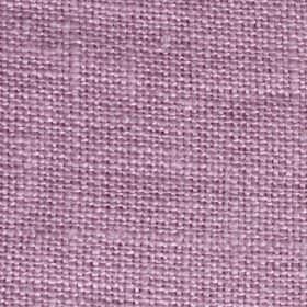 Elin Soft Linen - Pink - Woven linen fabric in a plain lilac colour