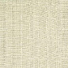 Sorrento - Cream - Subtle white threads running horizontally and vertically through very pale cloud grey coloured 100% linen fabric