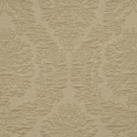 Cumulus - Dove - Elegant embroided design on cotton and polyester fabric in color dove