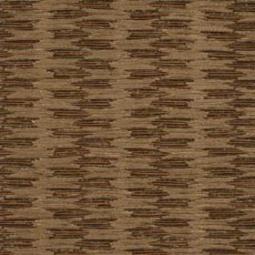 Grace - Mole - Beige threaded vertical desing on cotton, nylon, polyester and viscose fabric