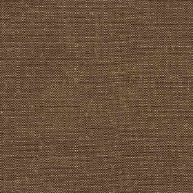 Panama - Cocoa - Brown viscose and linen fabric without any printed patterns