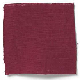 Plain Weave Linen - Volga Red - Plain Volga red linen fabric