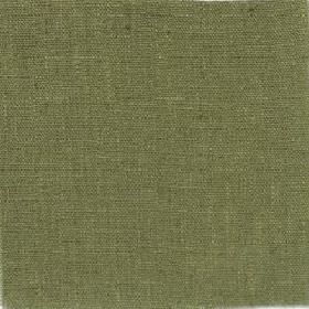 Plain Weave Linen - Fern Green - Plain linen fabric in a solid shade of dusky forest green