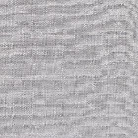 Plain Weave Linen - Dove Grey - Fabric made entirely from plain silvery grey coloured linen