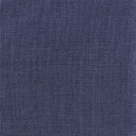 Plain Weave Linen - Ink - 100% linen fabric made in a dark, classic shade of navy blue