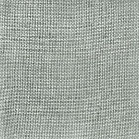 Upholstery Plain Weave Linen - Celadon - Light steel grey coloured 100% linen threads woven into a plain fabric
