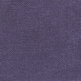 Upholstery Plain Weave Linen - Blackberry - Indigo coloured 100% linen threads woven into a plain fabric