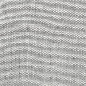 Upholstery Heavy Linen Plain Weave - Dove Grey - Fabric made from 100% linen in a light silvery grey colour