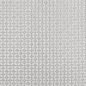 Tramonti - Dove - Silver-grey coloured fabric made from geometric patterned 100% polyester, featuring a design of a small grid and squares
