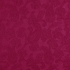 Positano - Fuchsia - Fabric made in a dark shade of pink from a blend of polyester, acrylic and viscose, covered with pretty paisley pattern