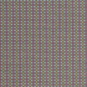 Sorrento - Candy - Rows of small icy blue, beige and dusky purple coloured dots covering polyester, acrylic and viscose blend fabric