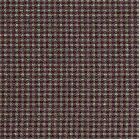 Sorrento - Orchard - Polyester, acrylic and viscose blend fabric covered in rows of tiny light grey, battlehip grey and dark purple dots