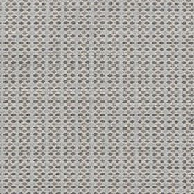 Sorrento - Pebble - Fabric made from polyester, acrylic and viscose, featuring a small, neat dot pattern in various shades of grey