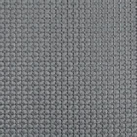 Tramonti - Metal - 2 very similar, elegant blue-grey shades covering 100% polyester fabric in a geometric pattern of small squares and a grid