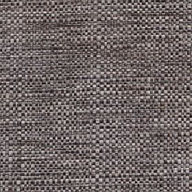 Aros - Zink - Polyester and cotton blend fabric woven using threads in pewter and dark gunmetal grey shades